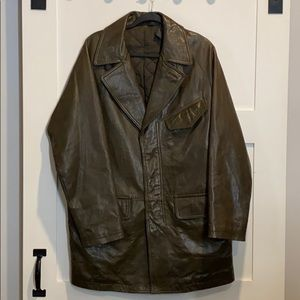 DKNY Quileted Leather Jacket. Size Small